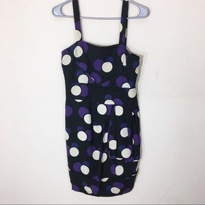 Marc Jacobs NWT Purple Polka Dot Dress Size 2